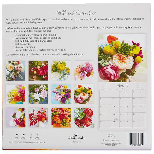 hallmark calendars 2018