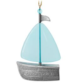 Discover Tomorrow's Promise Sailboat Ornament, , large
