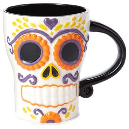 Candy Sugar Skull Mug, , large