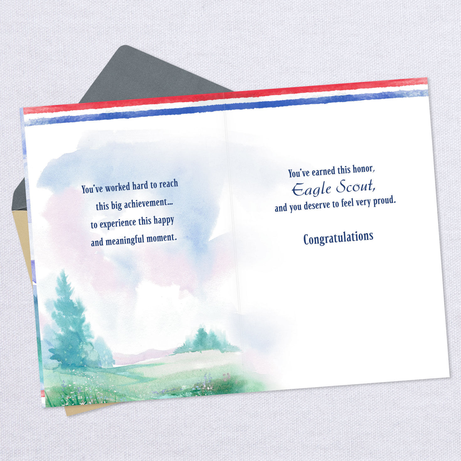 graphic relating to Eagle Scout Congratulations Card Printable named A Type of Personality Eagle Scout Congratulations Card