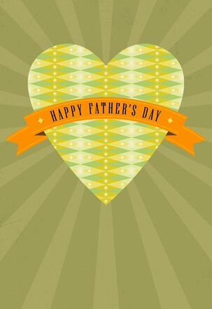 Partner in Parenthood and Life Father's Day Card