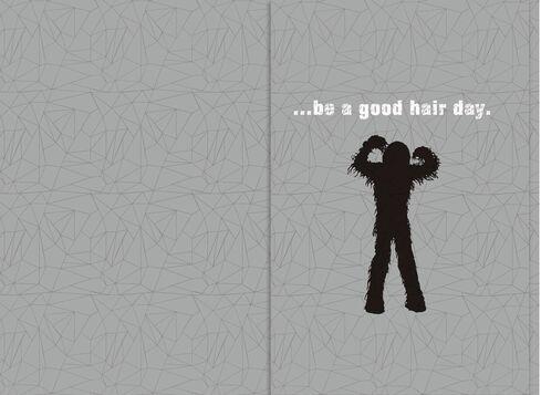Star Wars Chewbacca Good Hair Day Birthday Sound Card Greeting – Chewbacca Birthday Card