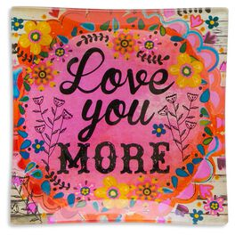 Natural Life Glass Tray Love You More, , large