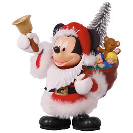 Disney Mickey Mouse Here Comes Santa! Ornament, , large