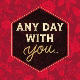 Best Day Ever Musical Valentine's Day Card,