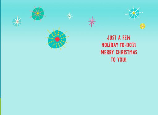 Eat Drink and Be Merry Musical Christmas Card,