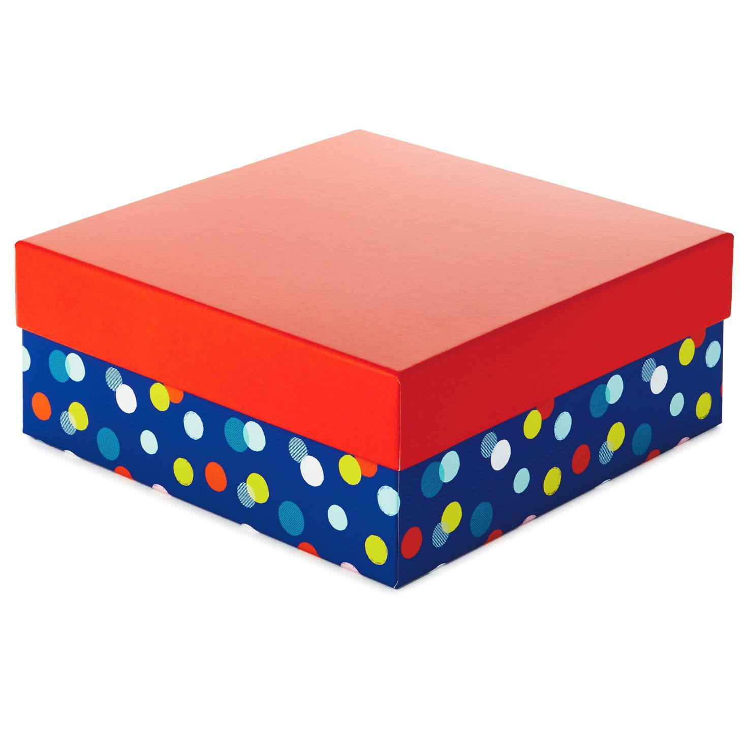 Friends on Polka Dots Kraft Gift Boxes Set of 2