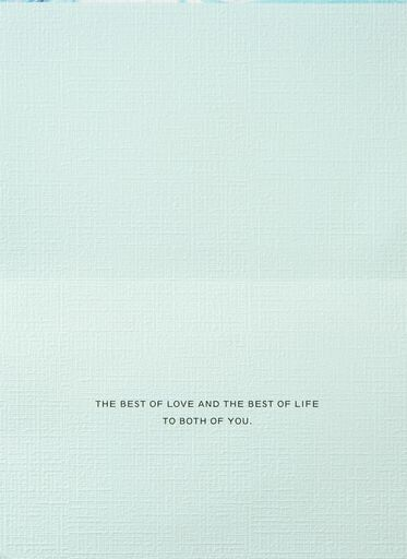 The Best of Love Wedding Card,