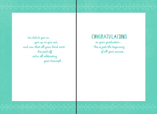 No Stopping You Now Graduation Card,