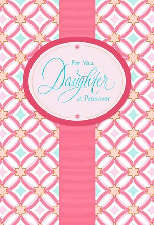 Blessed Daughter Passover Card