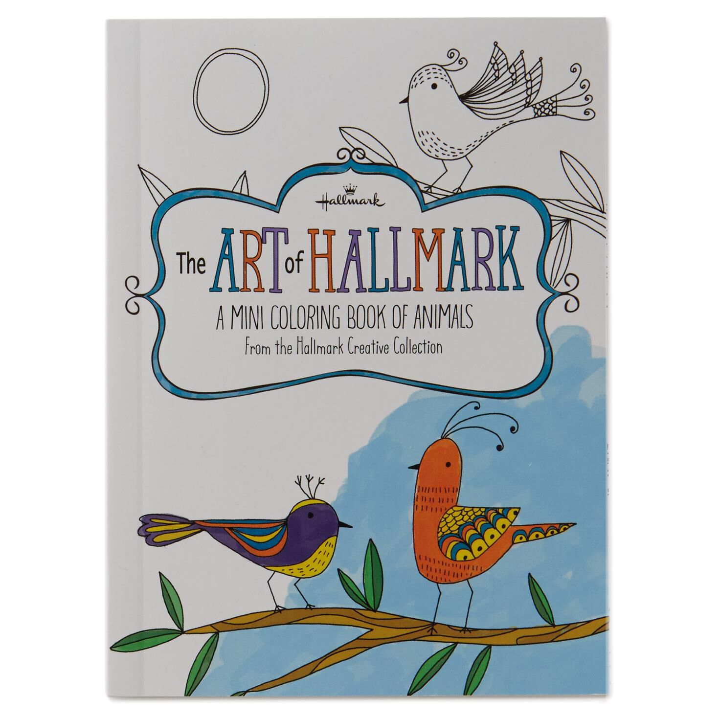 The Art Of Hallmark A Mini Coloring Book Animals
