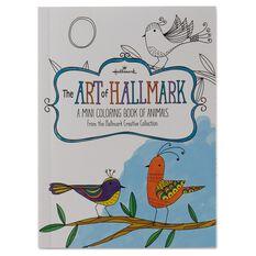 The Art Of Hallmark A Mini Coloring Book Animals