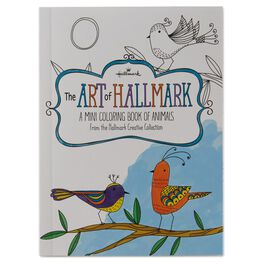 The Art of Hallmark, A Mini Coloring Book of Animals, , large
