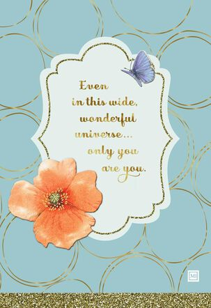 Only You Are You Marjolein Bastin Birthday Card