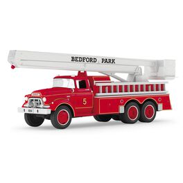 1959 GMC® Fire Engine Fire Brigade Ornament With Lights, , large