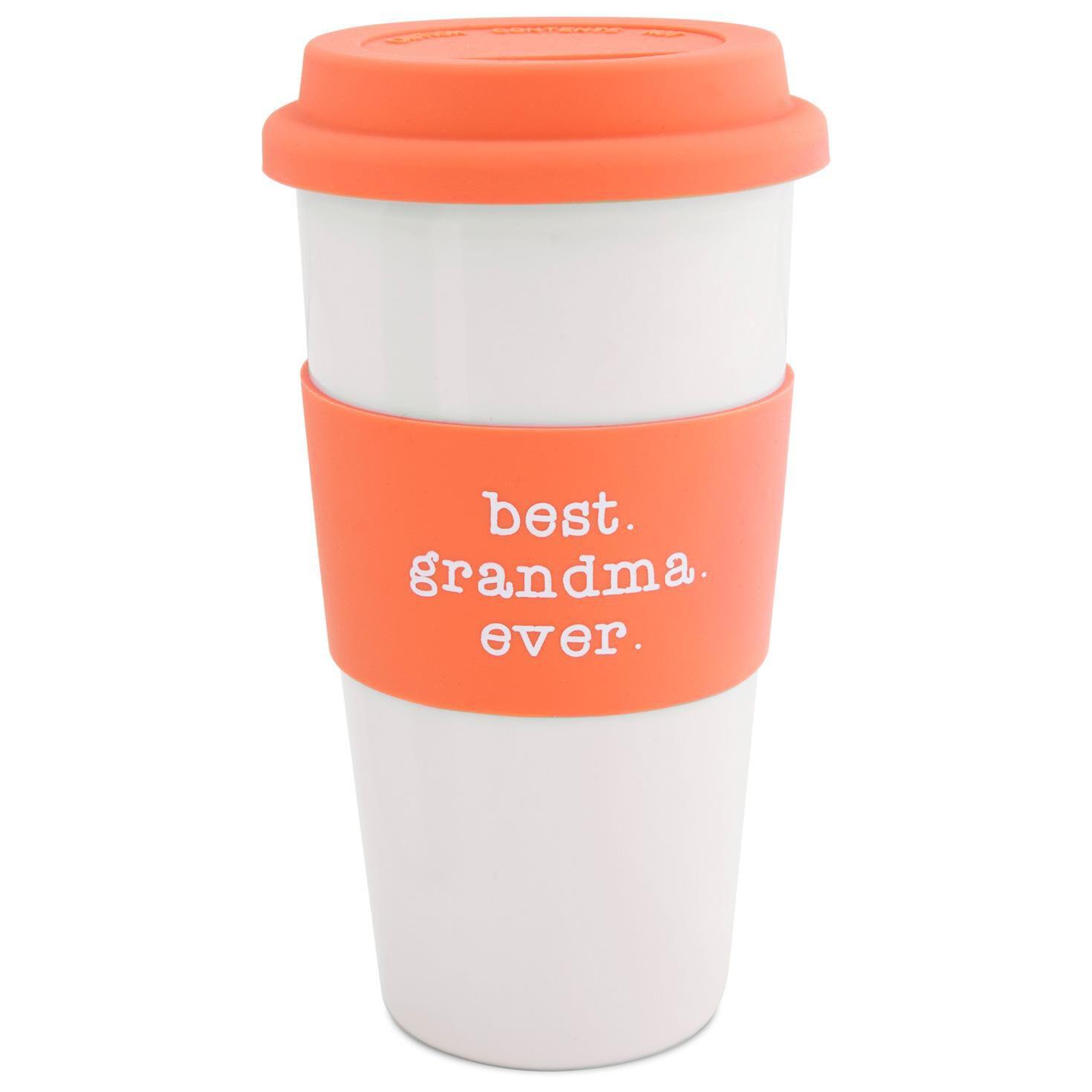 best grandma ever insulated travel mug 15 oz large - Coffee Travel Mugs