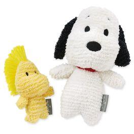 Snoopy and Woodstock Stuffed Animal Set, , large