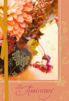 9e45e455860e Sharing Beautiful Tomorrows Together Anniversary Card