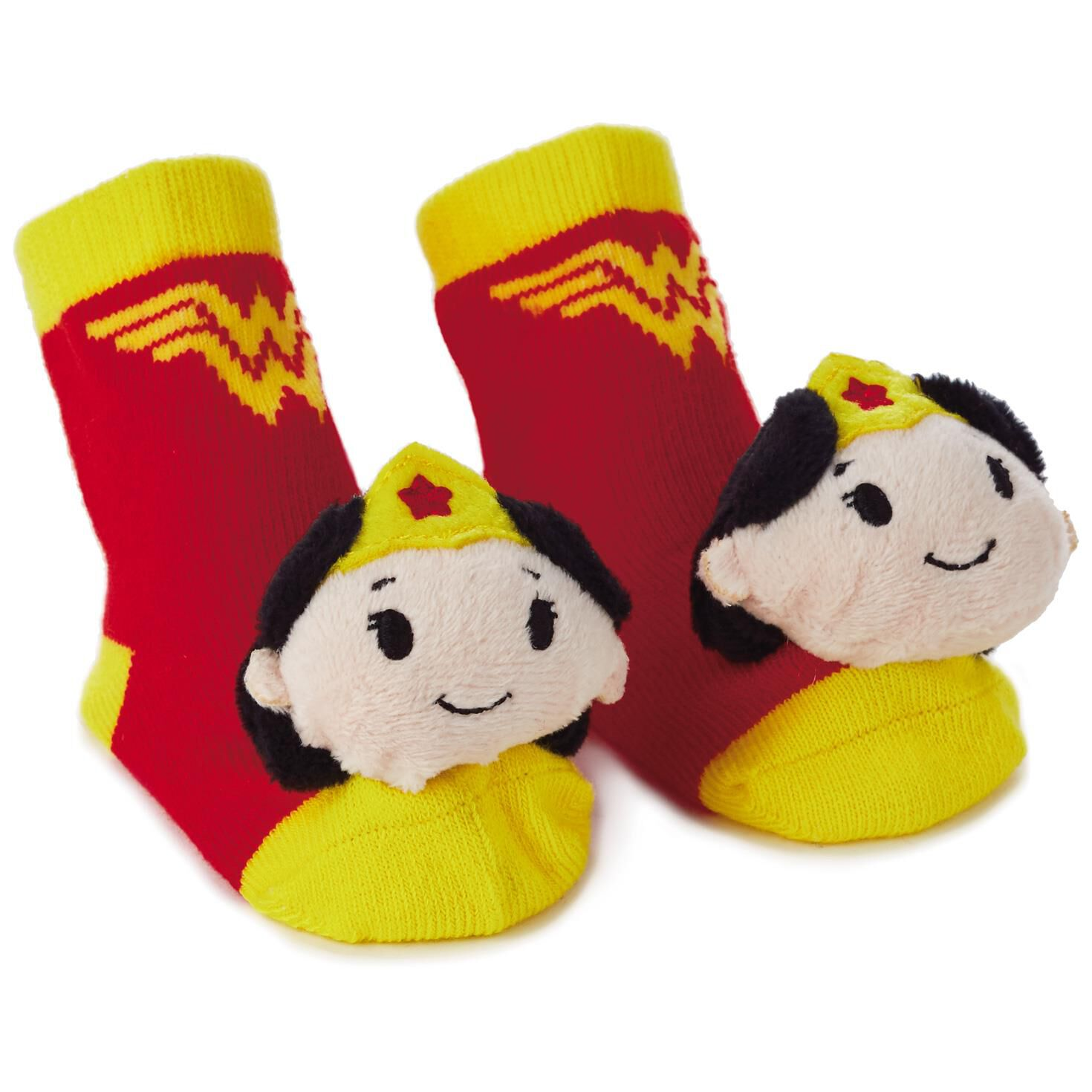 Wonder Woman Itty Bittys Baby Rattle Socks Baby Clothes Hallmark