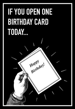 Not Money from Grandma Funny Birthday Card