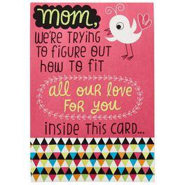 Little Bird Mother's Day Pop-Up Card From All of Us, , large