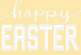 Son and Family Easter Card,