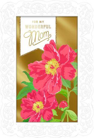 Framed Roses Mother's Day Card