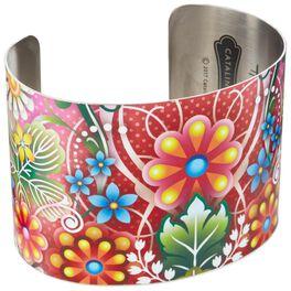 Catalina Estrada Springtime Petals Cuff Bracelet, , large