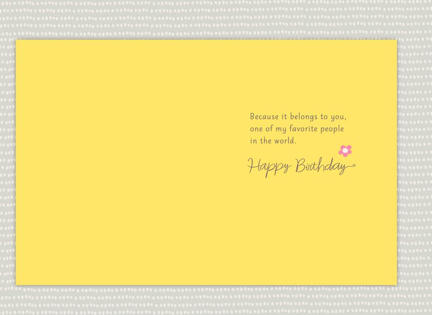Youre One Of My Favorite People Birthday Card For Aunt Greeting