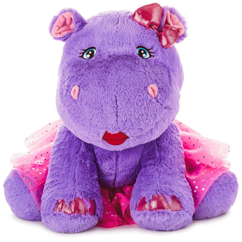 Darla The Hippo With Removable Tutu Jumbo Stuffed Animal 21