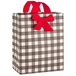 Our gift bags have a surprise hallmark ideas inspiration buffalo plaid large christmas gift bag 13 negle Gallery