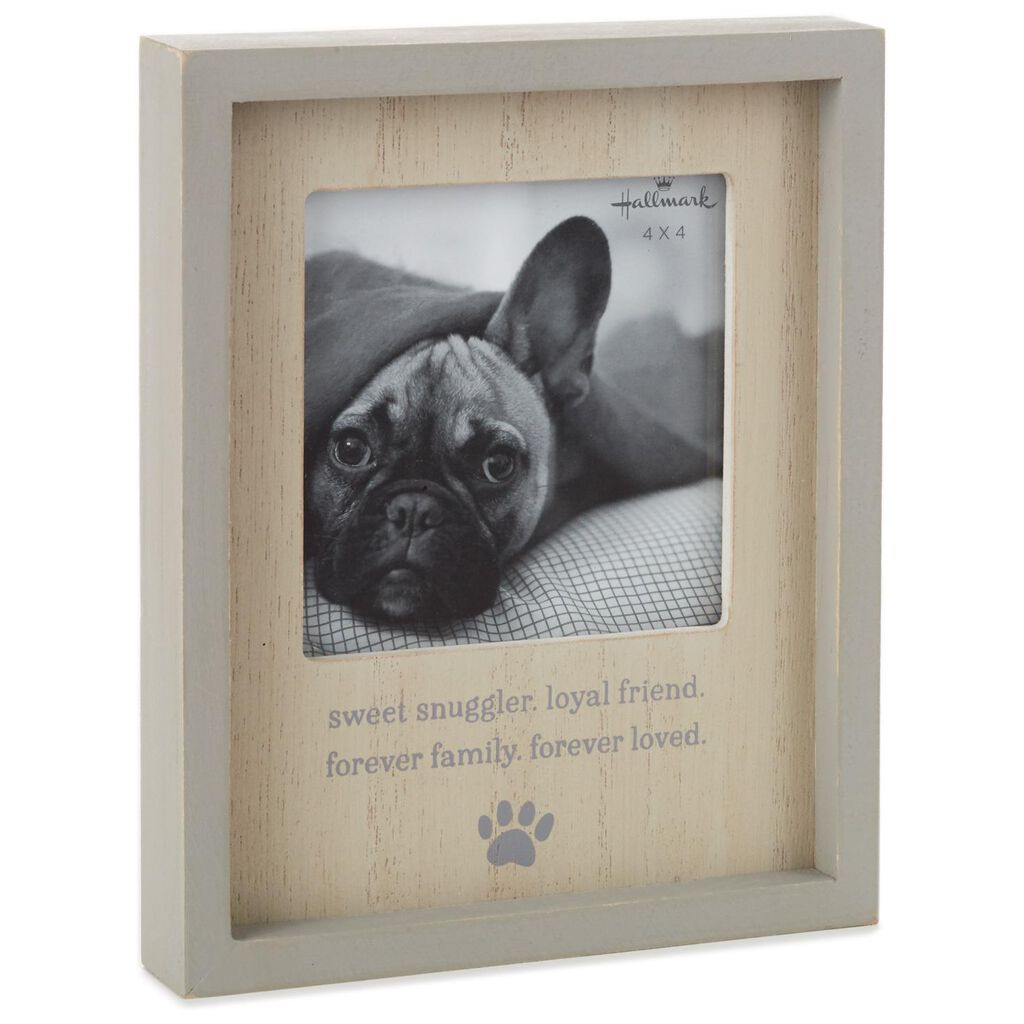 Sweet Snuggler Pet Picture Frame, 4x4