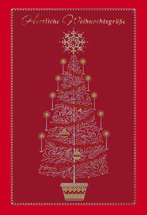 Herzliche Weihnachtsgrüße German-Language Christmas Card
