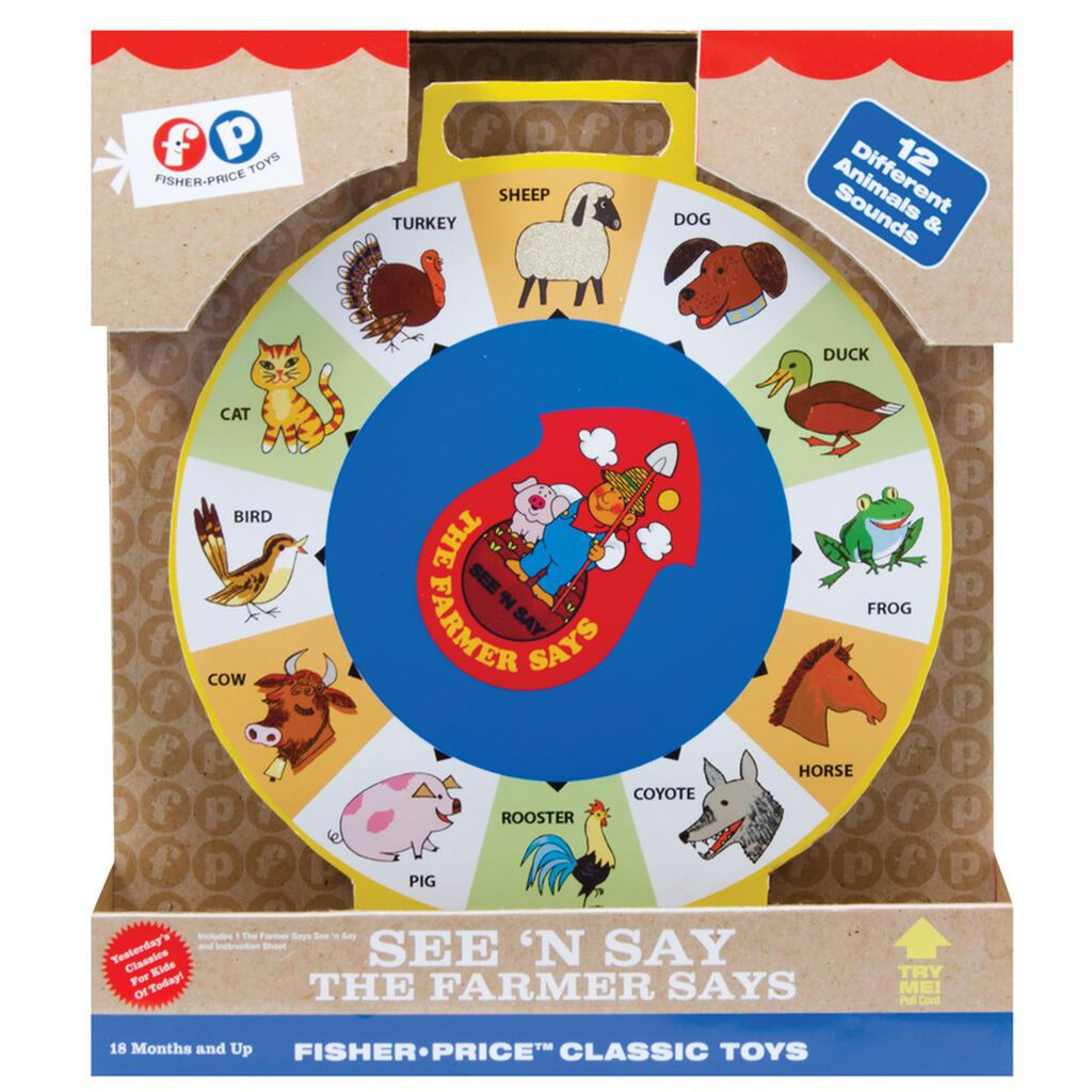 c9a2bbed2c6c9 See  N Say The Farmer Says Fisher Price™ Classic Toys ...