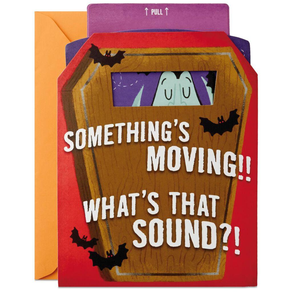 Vampire In Coffin Musical Halloween Card Greeting Cards Hallmark