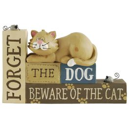 Forget the Dog, Beware of the Cat Sign, , large