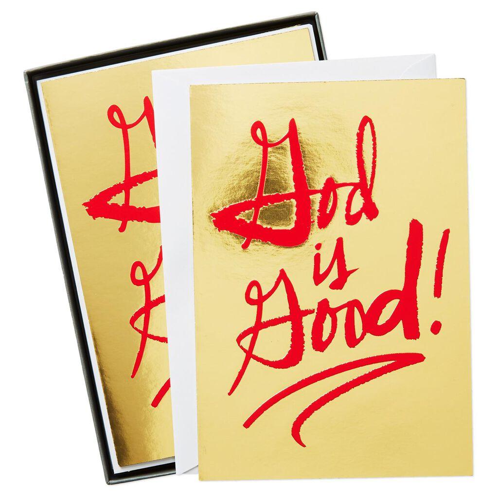 God Is Good Christmas Cards, Box of 16 - Boxed Cards - Hallmark