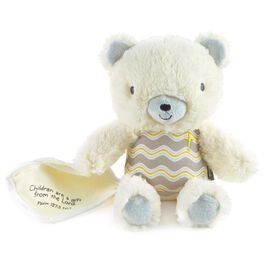Plush Bear with Blankie Religious, , large