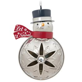Let It Snowman Premium Ornament, , large