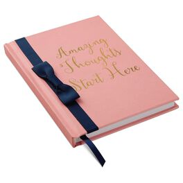 Amazing Thoughts Start Here Pink Journal, , large