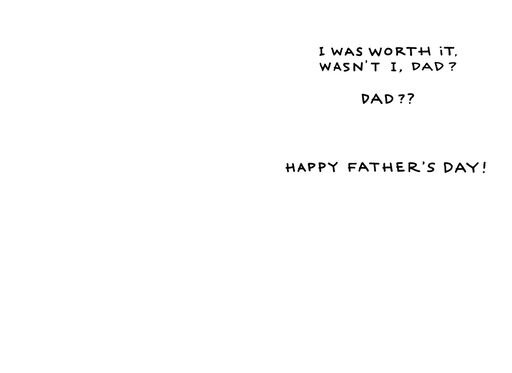 Aged With Wisdom Funny Father's Day Card,