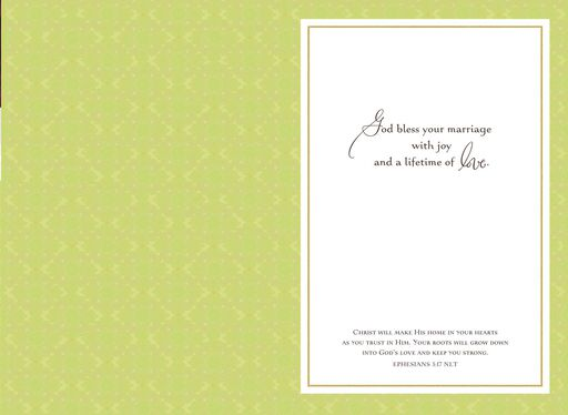 Wedding Blessing Religious Wedding Card,
