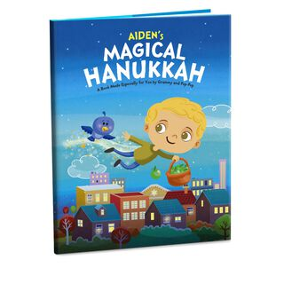 Hanukkah Personalized Book,
