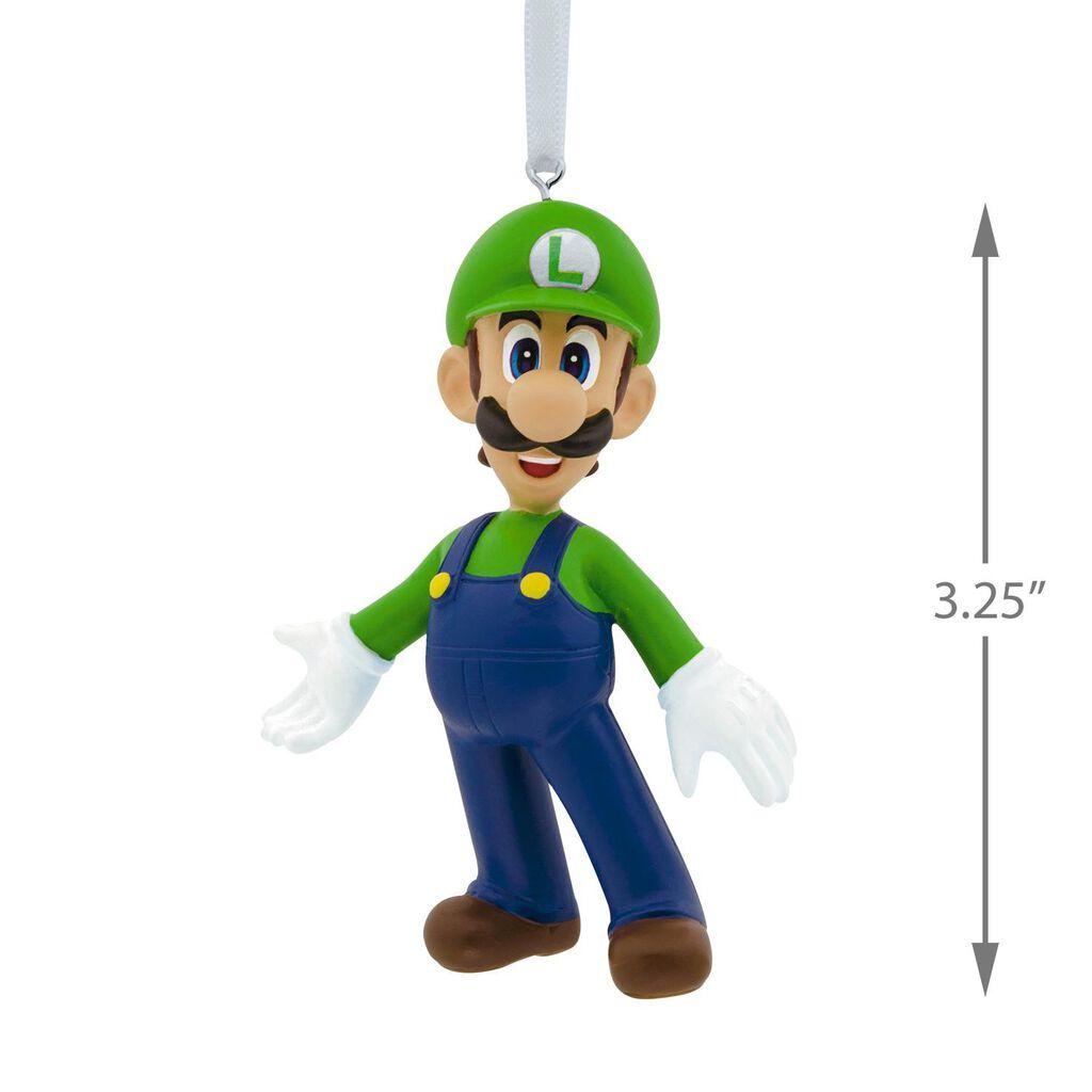 Nintendo Super Mario Bros.™ Luigi Hallmark Ornament - Gift Ornaments ...
