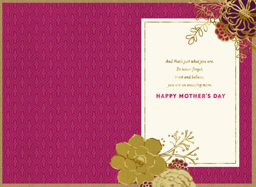 You're an Amazing Mom Mother's Day Card,