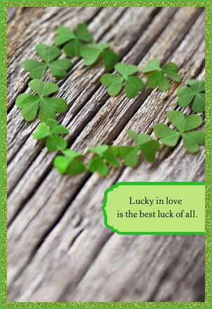 Lucky in Love St. Patrick's Day Card