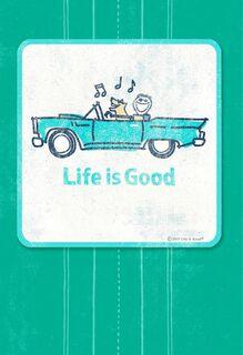 Life is Good® Cruisin' Coaster Birthday Card,