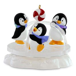 Playground Pals Penguins Ornament, , large