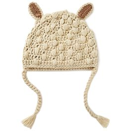 Lamb Knitted Baby Hat, 0-12 Months, , large