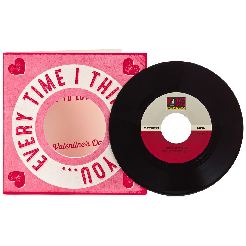 More To Love Valentine S Day Card With Vinyl Record Greeting Cards
